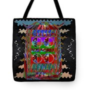 Magic Lamp Lights Up And Ask For 3 Wishes Chant 3 Times Jaag Jaag Kismat Tote Bag