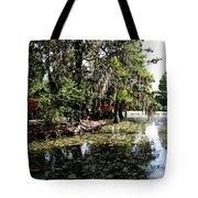 Magnolia Plantation Gardens Tote Bag