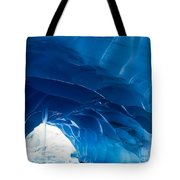 Melting Paradise Ice Cave Tote Bag