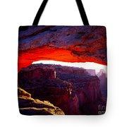 Mesa Arch Sunrise 2 Tote Bag