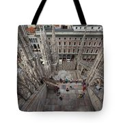 Milan From The Roof Tote Bag