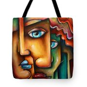 ' Mixed Emotions ' Tote Bag