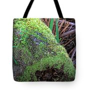 Mossy Dead Log Tote Bag