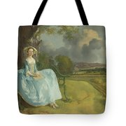 Mr And Mrs Andrews Tote Bag