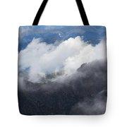 Mt. Bierstadt In The Clouds Tote Bag