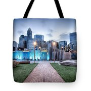 New Romare-bearden Park In Uptown Charlotte North Carolina Earl Tote Bag