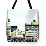 New York City Tote Bag by Ken Marsh