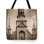 Notre-dame-de-bon-secours Chapel  Tote Bag