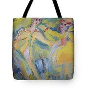 O Dilly Dance Tote Bag