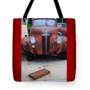 Old Old Car Tote Bag