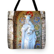 Our Lady Of Perpetual Help Mary And Jesus Tote Bag