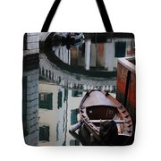 Oval Reflection Tote Bag