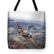 P47- D-day Train Busters Tote Bag
