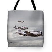 P47 Thunderbolt  Top Cover Tote Bag