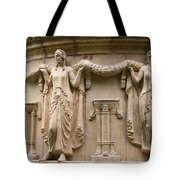 Palace Of Fine Art Relief  Tote Bag