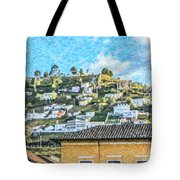 Panecillo Hill Quito	 Tote Bag