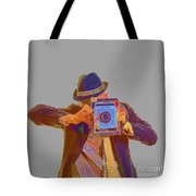 Paparazzi Tote Bag by Edward Fielding
