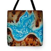 Peace Dove - Art By Sharon Cummings Tote Bag