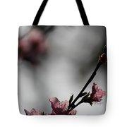 Peach Blossom II Tote Bag