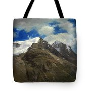 Peaks In The Rockies Tote Bag