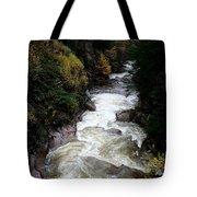 Pemigewasset River White Mountains Tote Bag