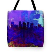Phoenix Watercolor Skyline 1 Tote Bag