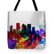 Phoenix Watercolor Skyline 2 Tote Bag