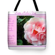 Pink Camellia - Happy Mother's Day Tote Bag