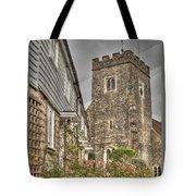 Plaxtol Church And Church Row Tote Bag