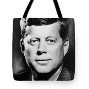 Portrait Of John F. Kennedy  Tote Bag by American Photographer