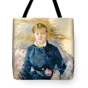 Portrait Of Louise Riesener Tote Bag by Berthe Morisot