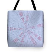 Prime Number Pattern P Mod 30 Tote Bag by Jason Padgett