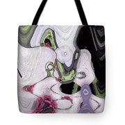 Profile Of A Witch  Tote Bag