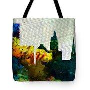 Providence City Skyline Tote Bag