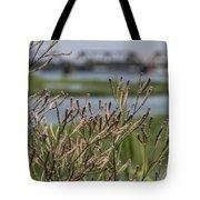 Purpletop Vervain Wildflowers Tote Bag