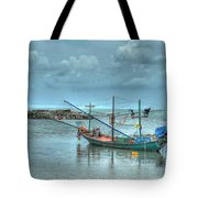 Ready For A Night Fishing Tote Bag