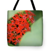 Red Butterfly Buds By Jammer Tote Bag