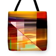 Red Desert Cosmopolis Tote Bag
