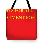 Rights Statement Tote Bag