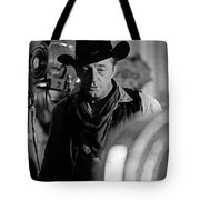 Robert Mitchum Lights Young Billy Young Set  Old Tucson Tote Bag