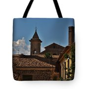 Rooftop Of The City Tote Bag