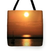 Sailboat A Drift Tote Bag
