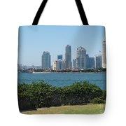 San Diego Viewed From Coronado Island Tote Bag