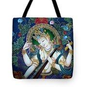 Saraswati 2 Tote Bag by Lanjee Chee