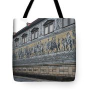 Saxon Sovereigns Depicted In Meissen Porcelain Tote Bag