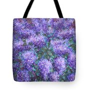 Scented Lilacs Bouquet Tote Bag
