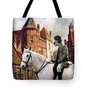 Scottish Deerhound Art Canvas Print Tote Bag