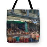 Seafood Shop Tote Bag