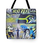 Seattle Seahawks Superbowl  Tote Bag