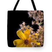 Shy Yellow Flower Tote Bag